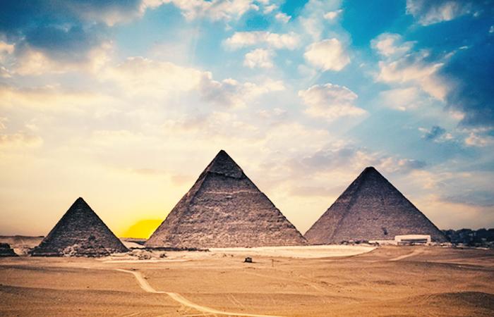 Giza Pyramids, Egyptian Museum